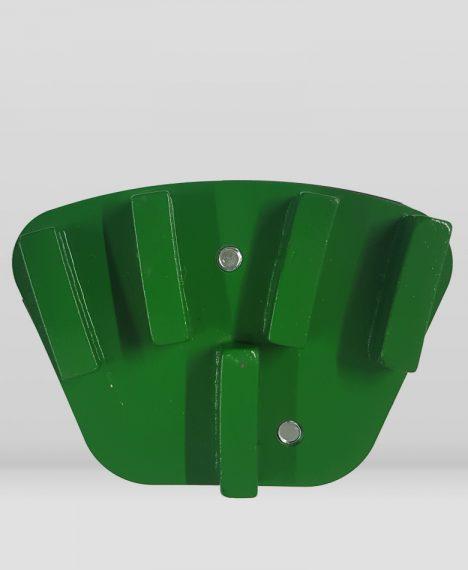 Segmentos/disco para pulido de pavimentos fijación anclaje